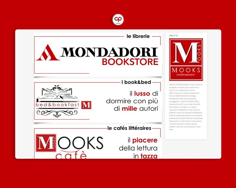 sito web, libreria online