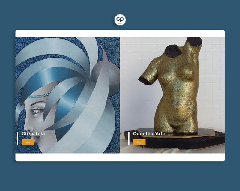 sito web, portfolio artistico